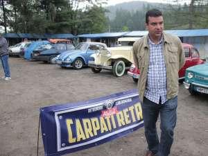 Bogdan Coconoiu, preşedintele Retro Mobil Club România