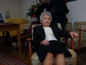 Miroslava Antochi, la vârsta de 103 ani