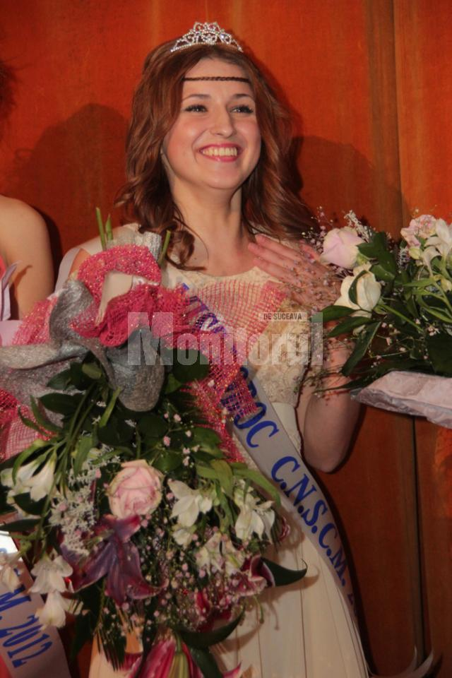 "Roxana David, Miss Boboc 2012 la CN ""Ştefan cel Mare"""