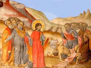 Vindecarea demonizatului din ţinutul Gherghesenilor
