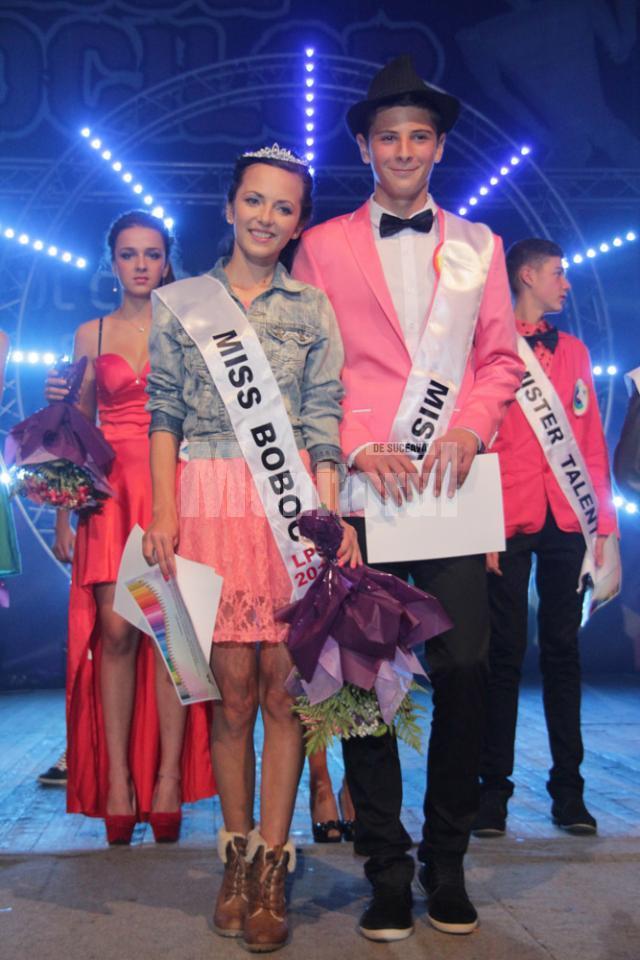 Miss si Mister Boboc 2012 la LPS, Alexandra Lupaşcu şi Sebastian Vicol