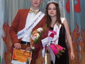 Robert Moscaliuc şi Carolina Ursu, Mister şi Miss Boboc 2012