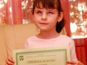 Fondurile care se vor strânge vor fi donate unei fetiţe, Leontina Nicoleta Călin, care are nevoie urgent de o operaţie la ochi