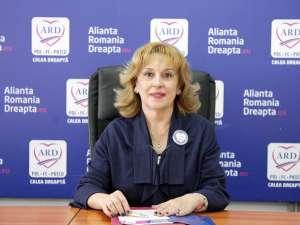 Deputatul PDL de Suceava Sanda-Maria Ardeleanu, care candidează din partea ARD pentru un nou mandat, a semnat Pactul pentru Basarabia