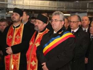 Ion Lungu la inaugurarea parcărilor subterane