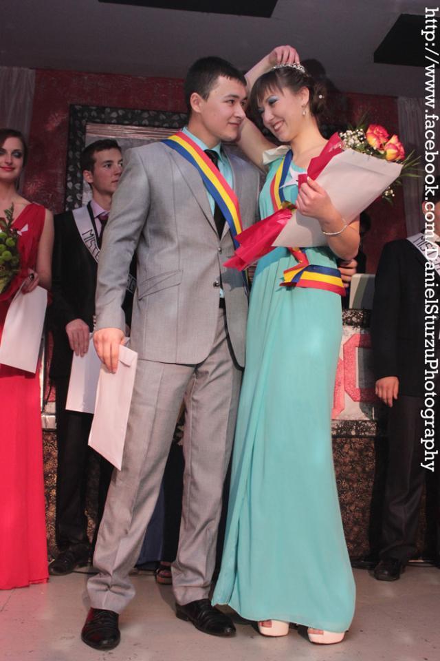 Mister şi Miss GIRB 2012 Silviu Cuguţ şi Cristina Neculcea