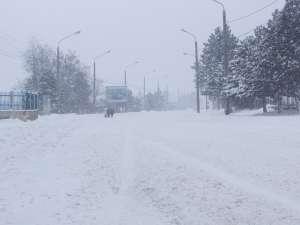Cursuri suspendate în 19 unităţi de învăţământ, din cauza zăpezilor