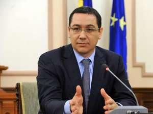 Ponta: Nu intervine Guvernul în finanţele publice locale, asta decid consilierii
