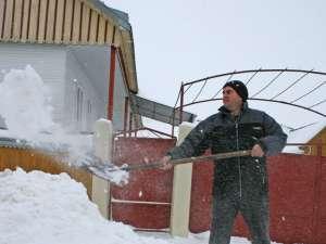 În lupta contra zăpezilor, un ajutor important poate veni chiar din partea cetăţenilor