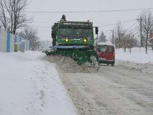 Cursuri suspendate în cinci comune, din cauza zăpezilor