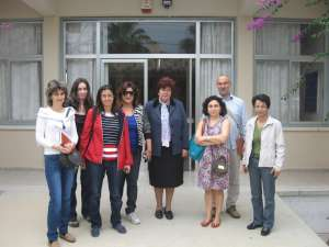 Membrii echipei de lucru Comenius