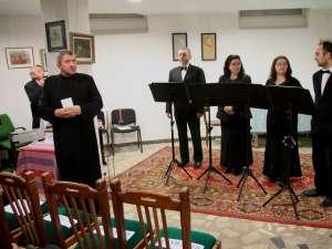"""Concert de Crăciun organizat la Biserica """"Naşterea Maicii Domnului"""" Suceava"""