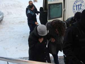 O parte dintre arestaţii pentru contrabandă cu ţigări