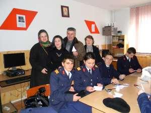 ,,Ziua porţilor deschise'', la Şcoala Profesională Specială din Câmpulung