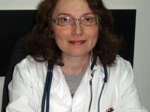 Dr. Olga Căliman Sturdza, de la Centrul de diagnostic şi tratament cu profil de boli infecţioase