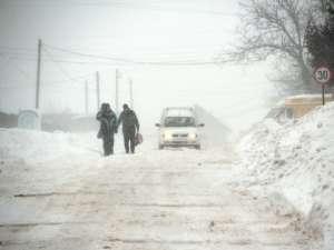 Vremea cu temperaturi extrem de scăzute, viscol şi ninsoare a făcut victime în judeţul Suceava