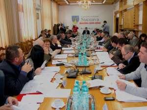 Ultima şedinţă a Consiliului Judeţean Suceava din acest an