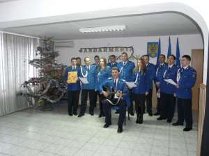 Sărbătoare la sediul Inspectoratului de Jandarmi Judeţean (IJJ) Suceava