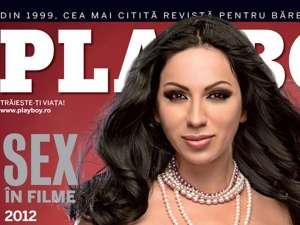 Rocsana Marcu revine pe coperta Playboy