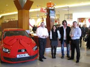 Grigore Paul Papuc a câştigat un autoturism Volkswagen Polo