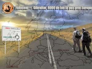 Fălticeni-Gibraltar, 4.000 de km la pas prin Europa
