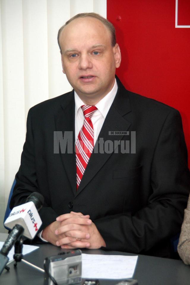 Senatorul USL de Fălticeni, social-democratul Ovidiu Donţu