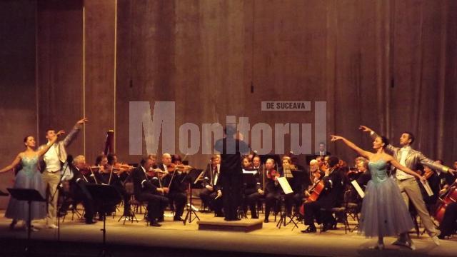 Concertul extraordinar pentru Anul Nou 2013 a deschis şirul spectacolelor din acest an la Suceava