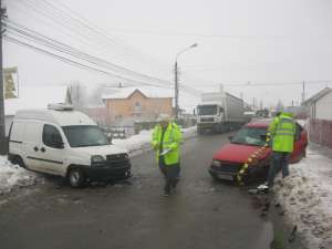 poze accident Gheorghe Doja