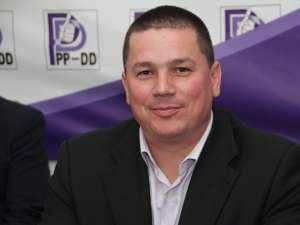 Cezar Cioată a fost numit preşedinte interimar al Organizaţiei Judeţene Suceava a PP-DD