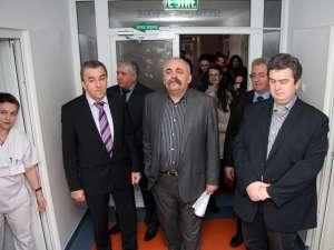 Reprezentanţi ai autorităţilor locale şi judeţene au participat la recepţia lucrărilor