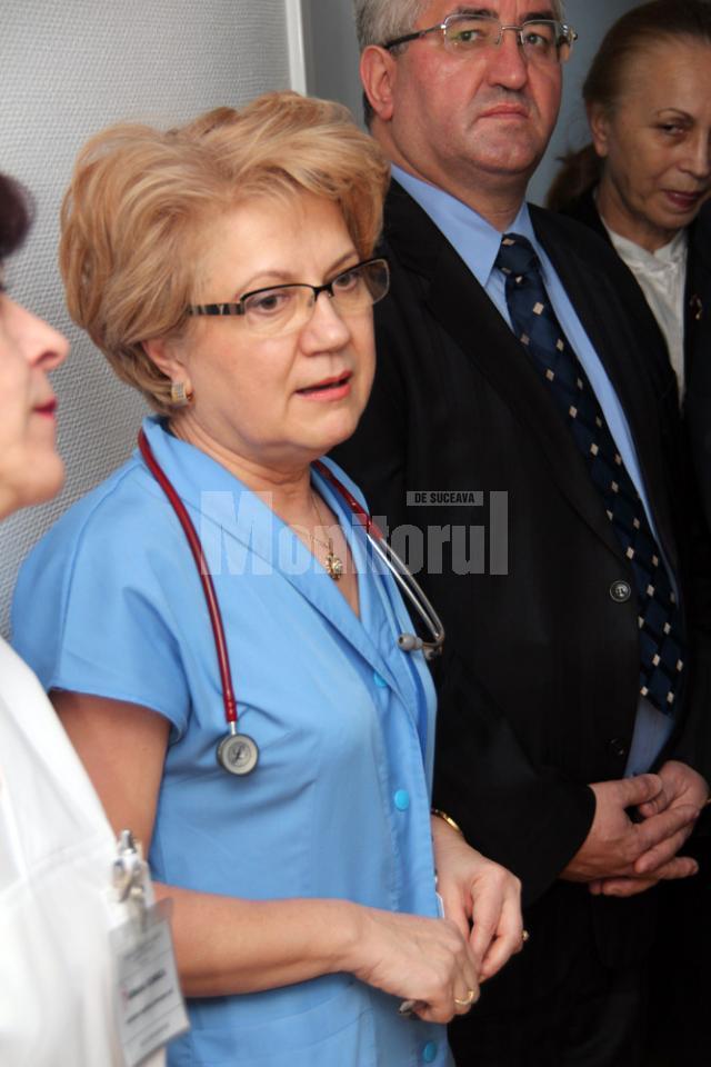 Dr. Dana Murariu - şefa secţiei de Neonatologie