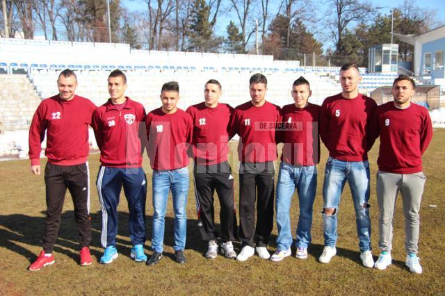 Noile achiziţii ale Rapidului au fost prezentate ieri la stadionul Areni
