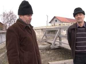 Arcadie Boicu, Teodor Rotari şi podul în miniatură construit în amintirea acţiunii din februarie 2009