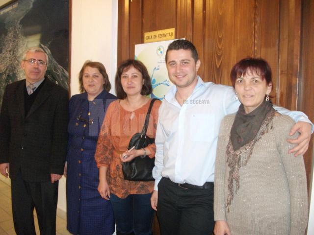 """Participanţi la seminarul de pregătire a formatorilor """"Controlul integrat al poluării cu nutrienţi"""""""