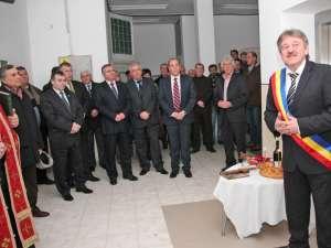 Inaugurarea unui lift pentru pacienţi şi cadrele medicale, la spitalul orăşenesc din Gura Humorului