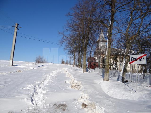Iarna în toiul primăverii