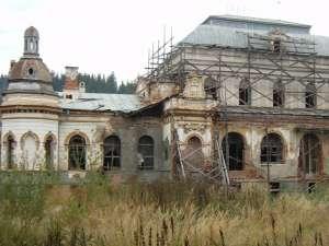 Cazinoul din Vatra Dornei, de ani buni într-o stare jalnică