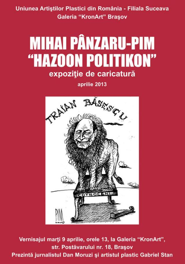 """Hazoon politikon"""