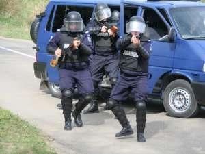 Detaşamentul de intervenţie al Jandarmeriei va prezenta numeroase exerciţii demonstrative