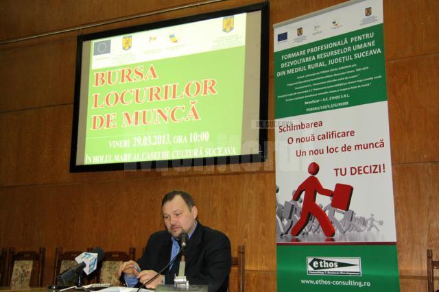 Marius Vatavu a asigurat managementul proiectului