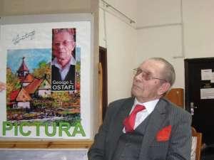 """Venerabilul pictor şi om de litere sucevean George L. Ostafi a fost celebrat sâmbătă, la Biblioteca Bucovinei """"I.G. Sbiera"""""""