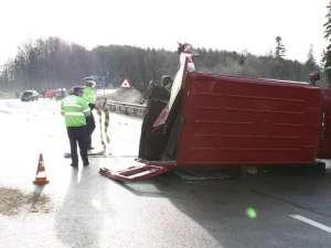 Accidentului petrecut vinerea trecută pe DN 17, între Ilişeşti şi Păltinoasa