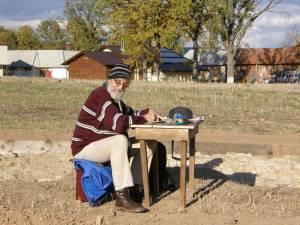 Ultimul şantier, ultima poză, la Dragomirna, noiembrie 2012