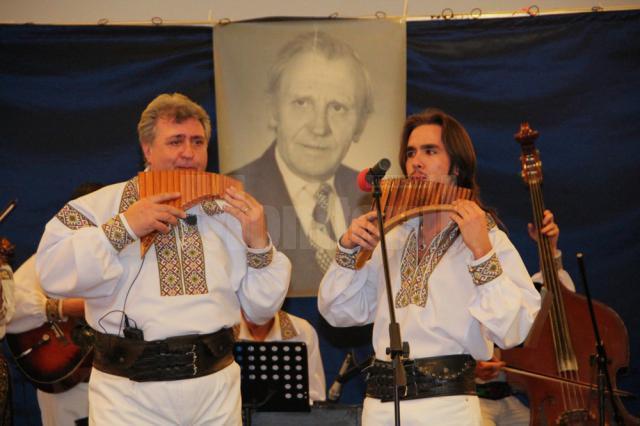 Ovidiu şi Eduard Şvarţ, fiul, respectiv nepotul maestrului Friedrich Schwartz
