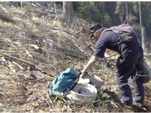 Incendiul de pădure din apropiere de Călimani, extins pe şapte hectare