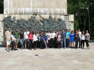Studenţi din patru ţări europene, oaspeţi ai Facultăţii de Ştiinţe Economice şi Administraţie Publică