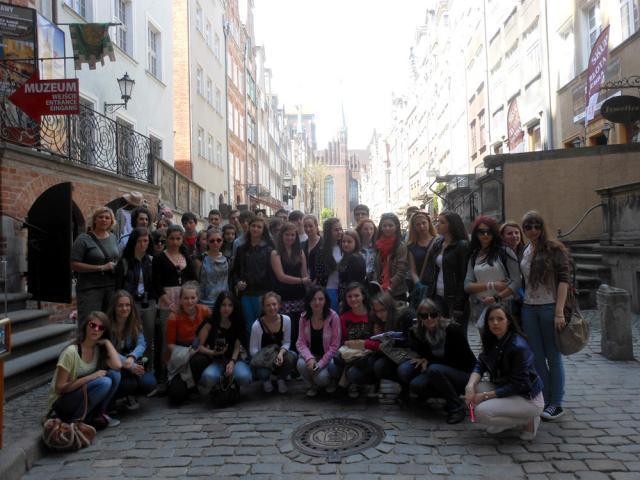 Elevi şi profesori suceveni, în schimb de experienţă la Gdansk