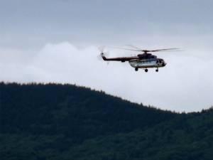 Acţiunea este coordonată dintr-un elicopter al Inspectoratului General al  Aviaţiei Române