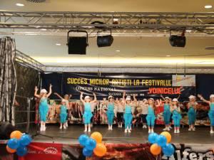 """Faza judeţeană a Festivalului concurs """"Voinicelul"""" la Iulius Mall Suceava"""