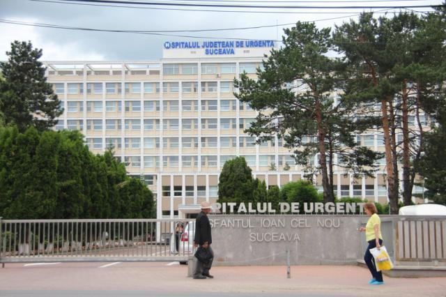 """Astăzi, Spitalul de Urgenţe """"Sf. Ioan cel Nou"""" Suceava are 1.200 de paturi"""